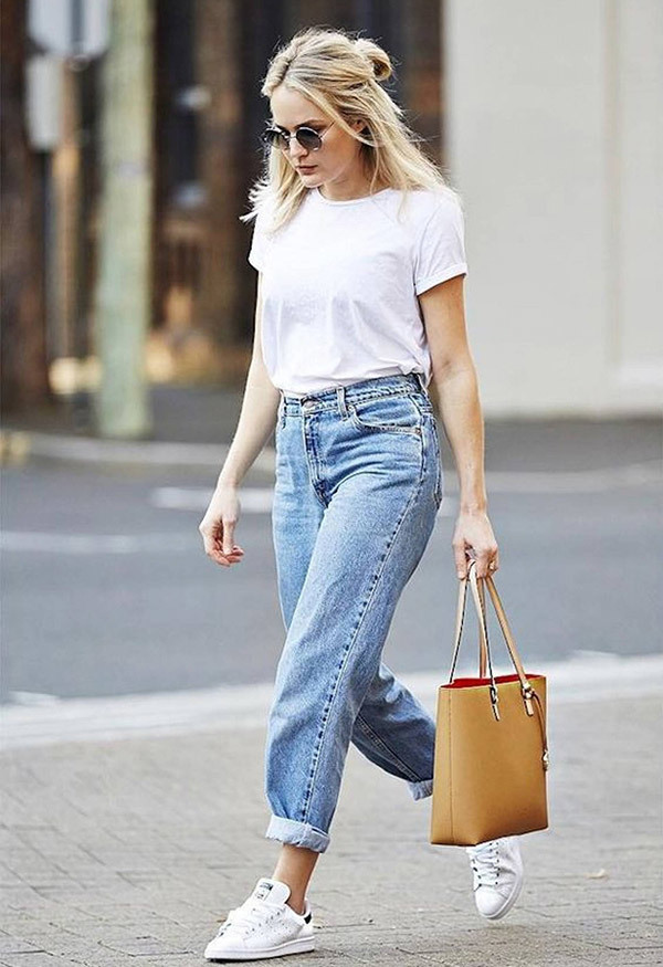 Boyfriend Jeans Outfit Summer