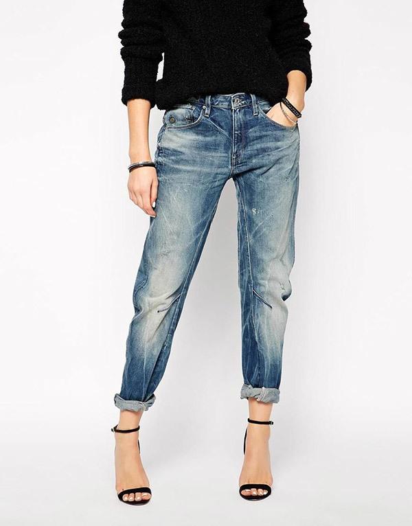 Boyfriend Jeans Outfit Ideas-9