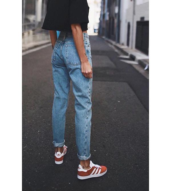 Boyfriend Jeans Style Outfit Ideas