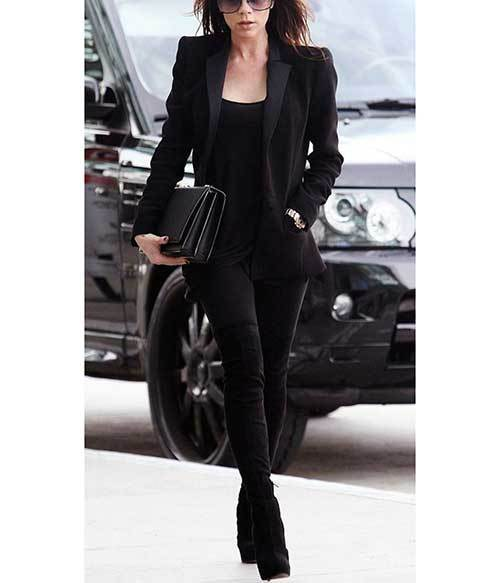 Business All Black Outfit Ideas