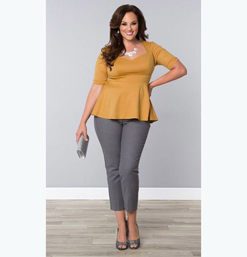 Business Outfits for Plus Size Women