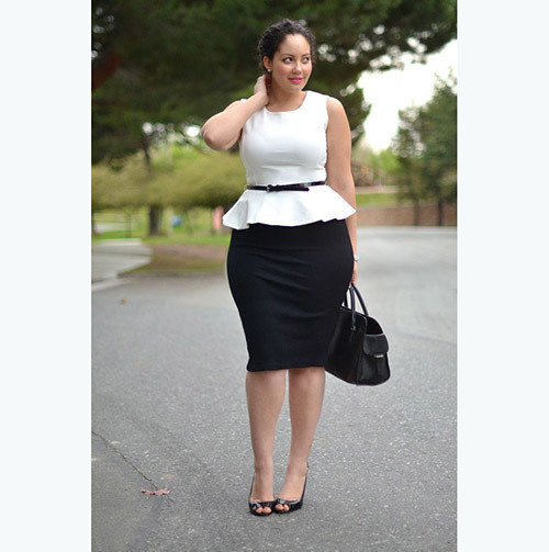 Business Outfits for Plus Size
