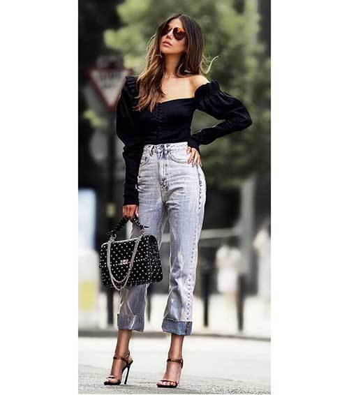 Casual Off Shoulder Outfit Ideas