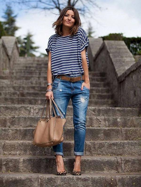 Chic Boyfriend Jeans Outfit Ideas