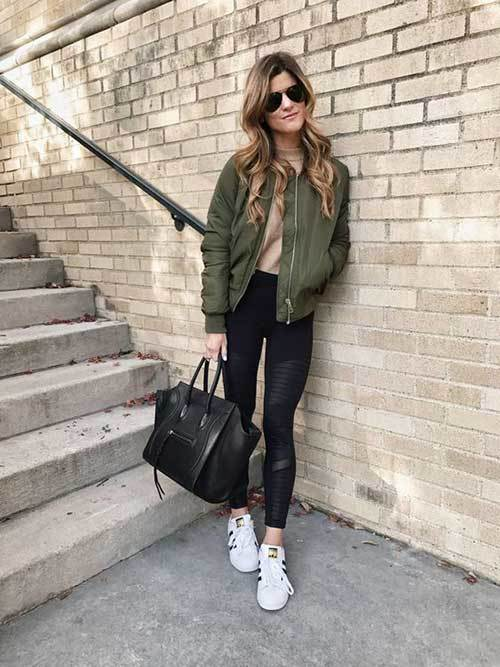 Chic Bomber Jacket Outfits