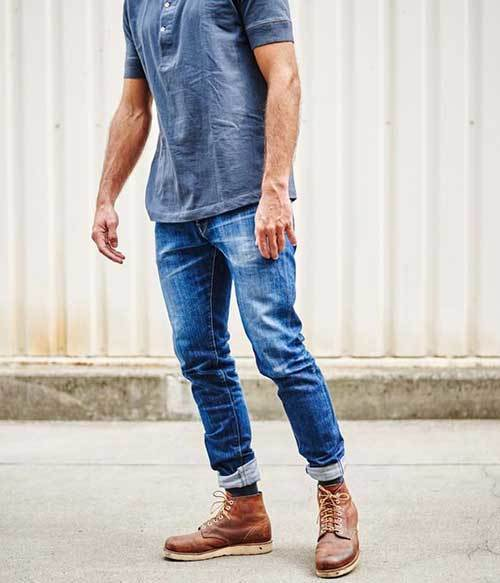 Chic Jean Outfits for Men