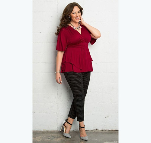 Comfortable Plus Size office Outfits