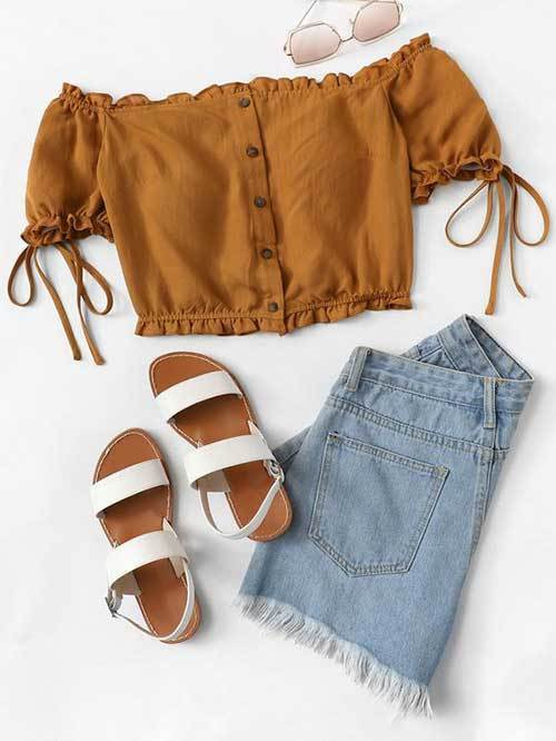 Comfy Off Shoulder Outfit Ideas
