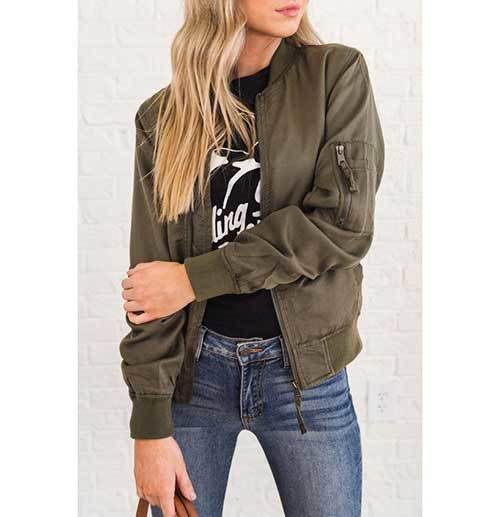Cool Bomber Jacket Outfits