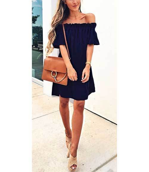 Cool Off Shoulder Outfit Ideas