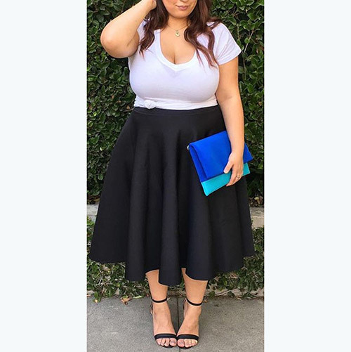 Curvy Plus Size office Outfits
