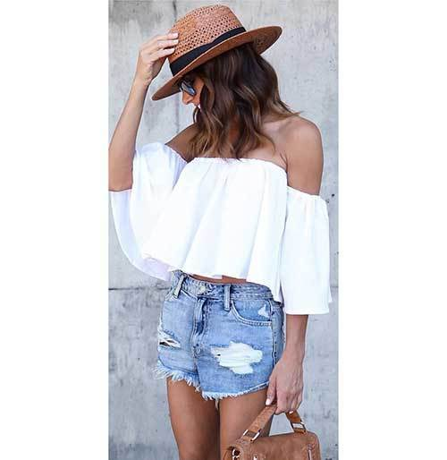 Cute Off Shoulder Outfits