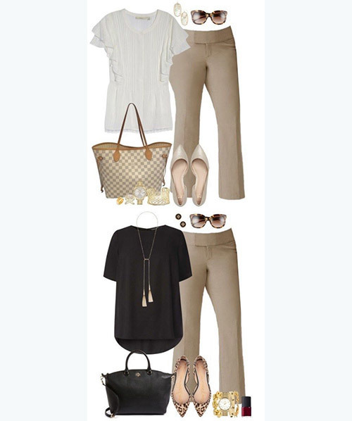 Elegant Plus Size office Outfits