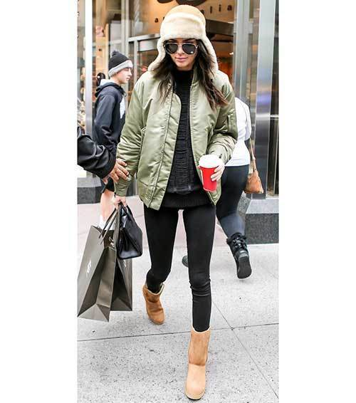 Kendall Jenner Bomber Jacket Outfits
