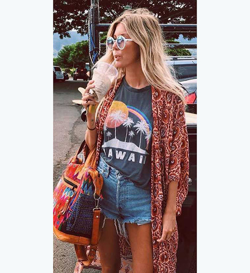 Lovely Bohemian Outfit Ideas