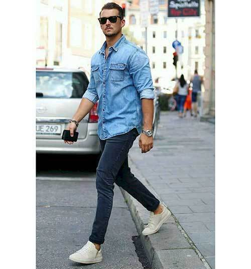 Denim Jean Outfits for Men