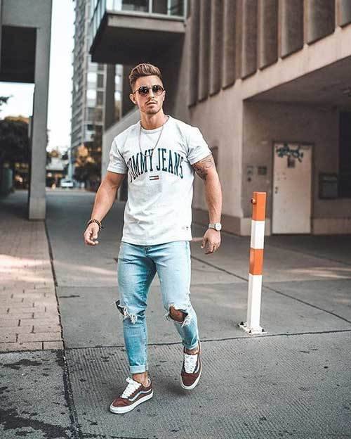 Jean Street Outfits for Men