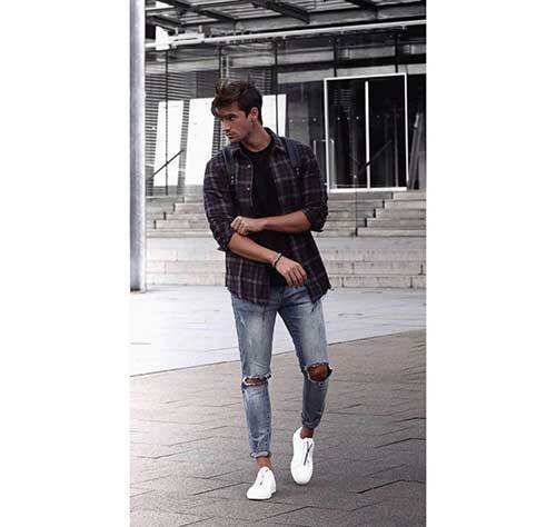 Jean Summer Outfits for Men