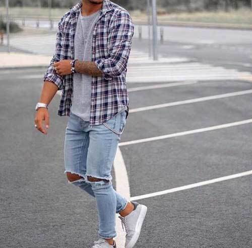 Jean Urban Outfits for Men