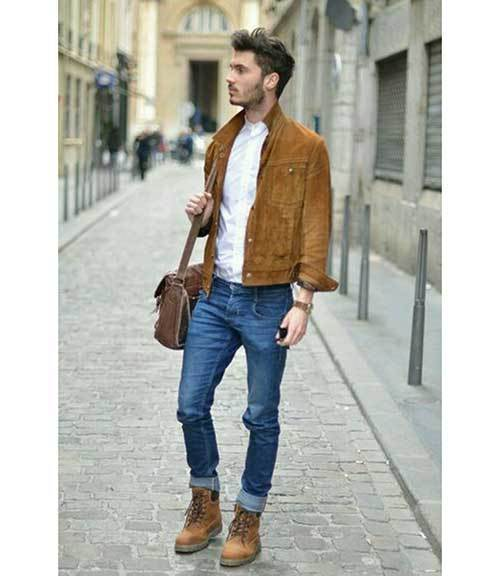 Jean Winter Outfits for Men