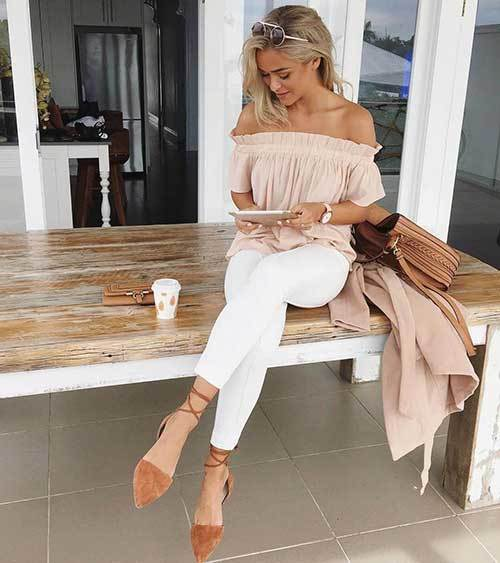 Off Shoulder Fashion