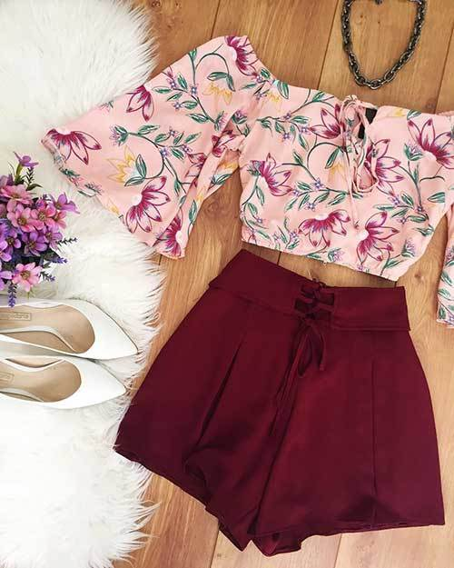 Off Shoulder Teen Outfit Ideas