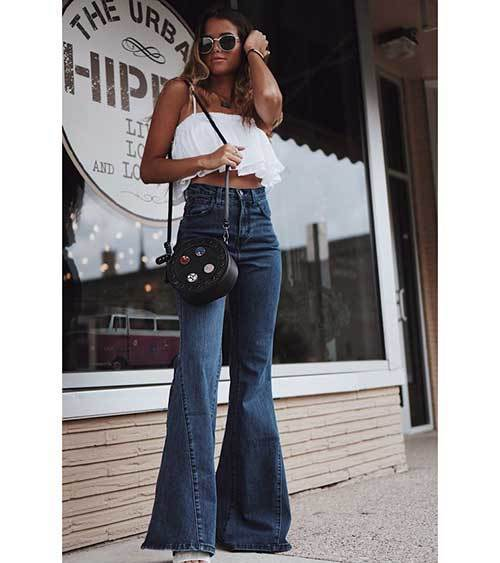 Oldschool High Waist Pants Outfit Ideas