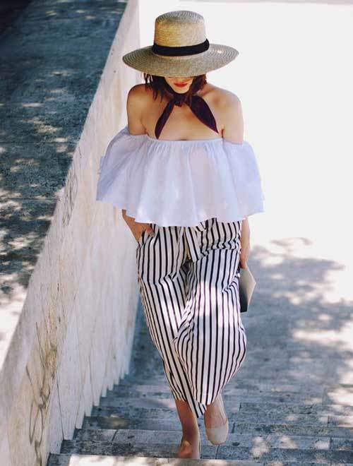 Outfits with Off The Shoulder Tops