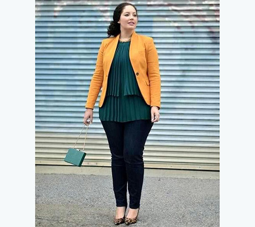 Plus Size Casual office Outfits