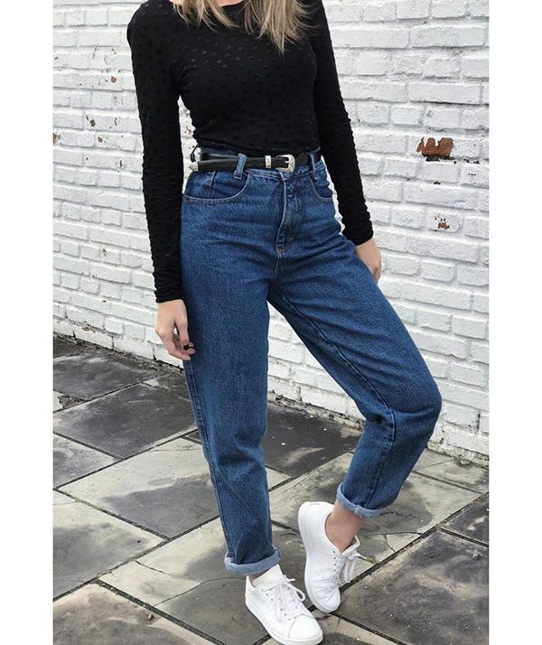 Simple Boyfriend Jeans Outfit Ideas