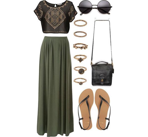 Spring Boho Outfit Ideas