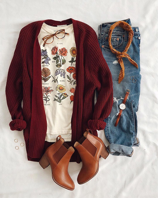 Spring T-Shirt Outfit Ideas