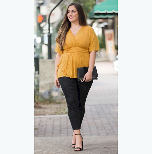 Plus Size office Summer Outfits