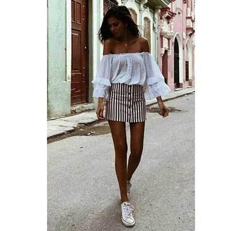 Cute Summer Street Outfits