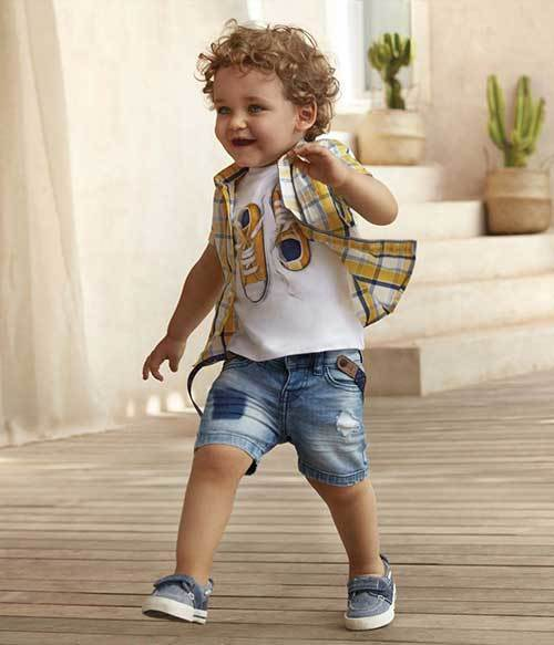 Toddler Boy Summer Denim Outfits