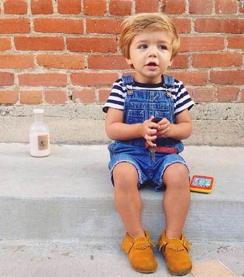 Toddler Boy Summer Overall Outfits