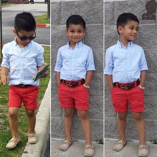 Toddler Boy Summer Preppy Outfits