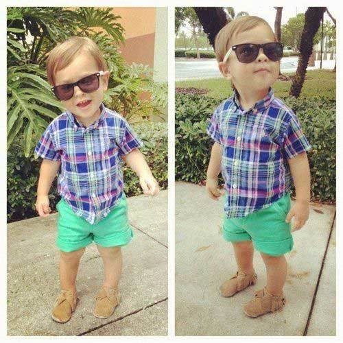 Toddler Boy Summer Short Outfits