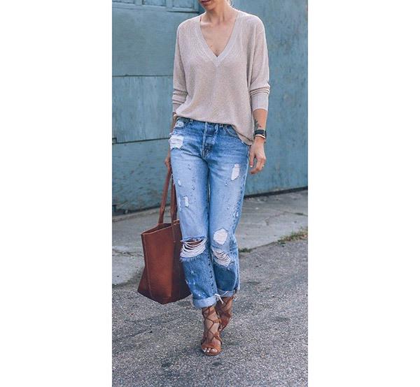 Trend Boyfriend Jeans Outfit Ideas