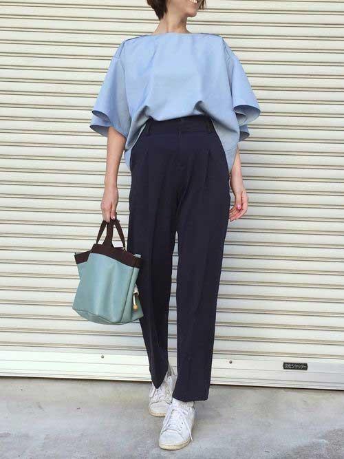 Trending High Waist Pants Outfit Ideas