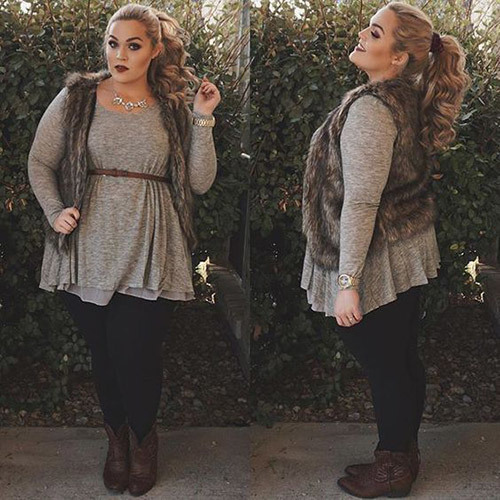 Adorable Plus Size Fall Outfits