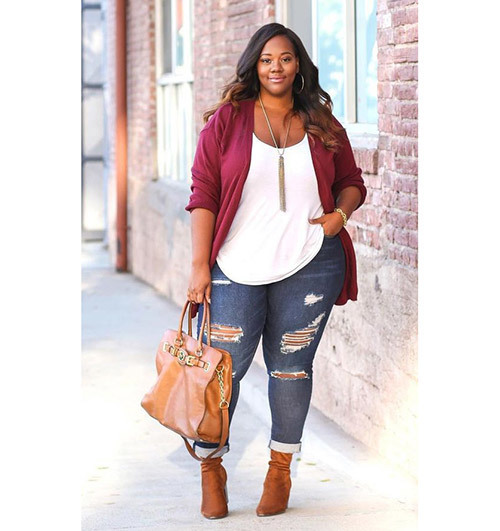 Casual Plus Size Fall Outfits