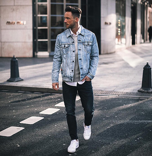 Casual Spring Outfits for Men