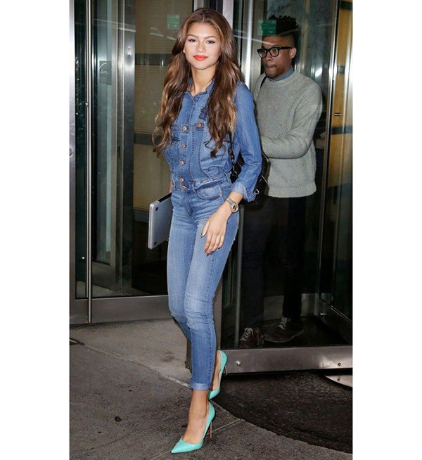 Celebrity Casual Jeans Outfits