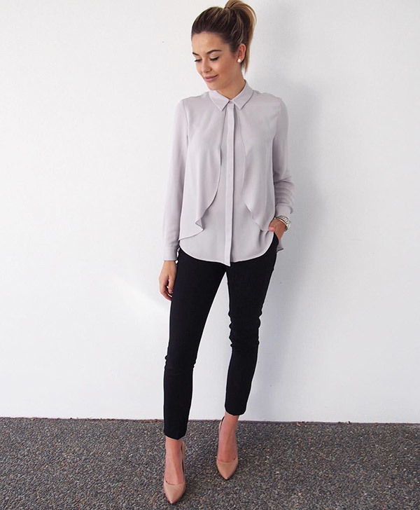 Classy Corporate Outfits for Ladies
