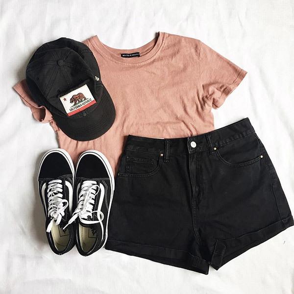 Cute Summer Black Outfits