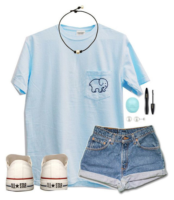 Cute Summer Camping Outfits