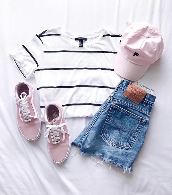 Cute Summer Denim Outfits