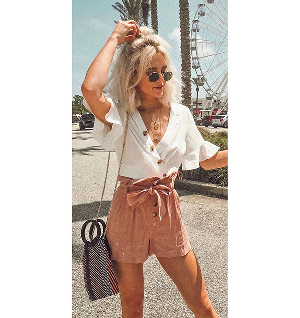 Cute Summer Holiday Outfits