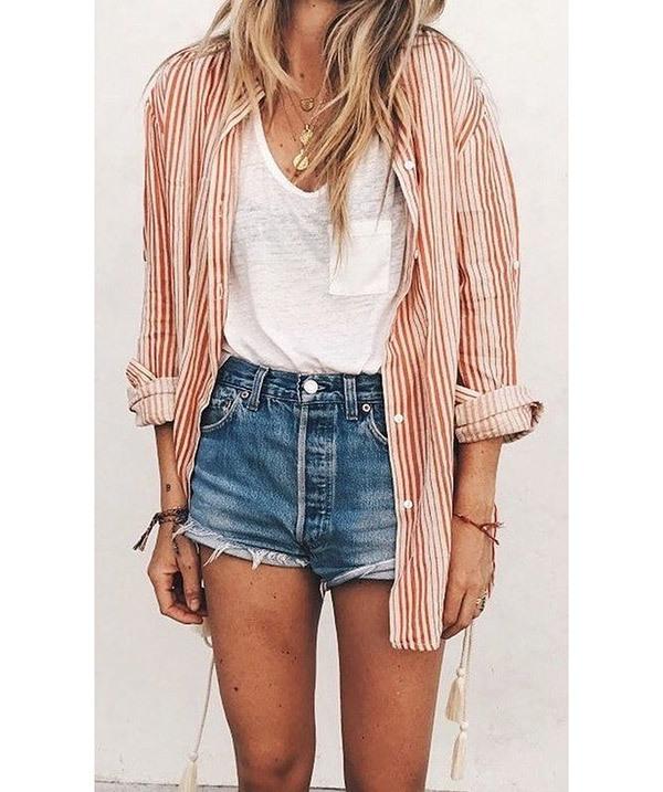 Cute Summer Jean Outfits